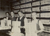 Banknote production