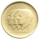 1500-krone commemorative coin 2005, obverse
