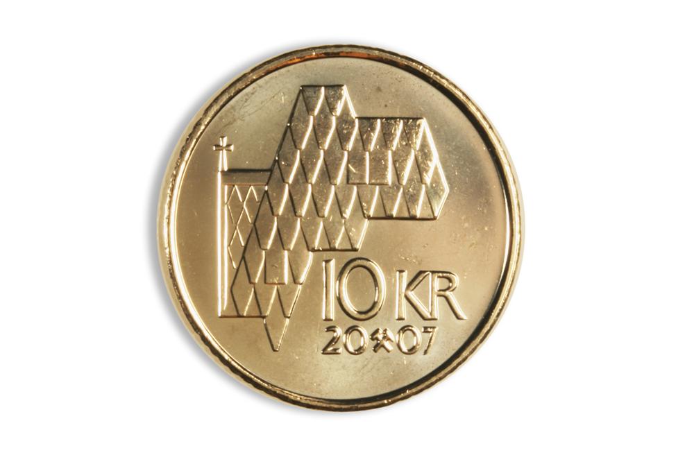 Bilderesultat for 10 kronemynt bilde