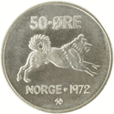 50-øre coin, cupro-nickel
