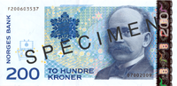 200-krone note from 2009
