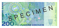200-krone note from 2002