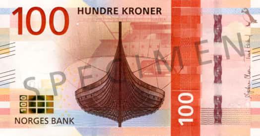 New 100 Krone Note Series Viii